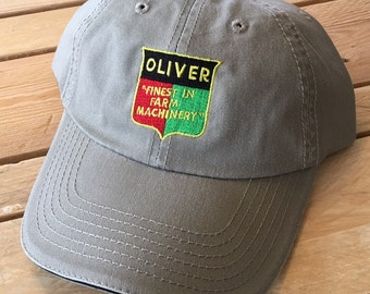 Vintage Oliver Tractor cap  FREE SHIPPING
