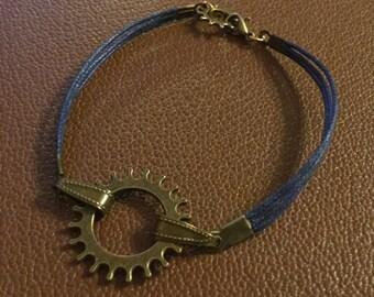 Bronze Steampunk Bracelet