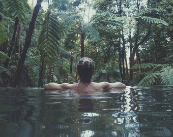 Travel Photography, hot springs, girl, wanderlust, portugal