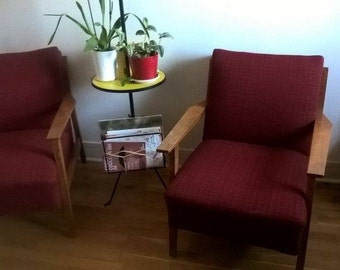 Beautiful pair of 60s vintage chairs
