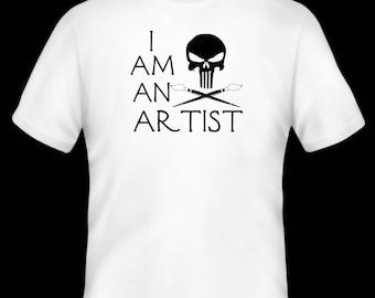 I am an artist t-shirt