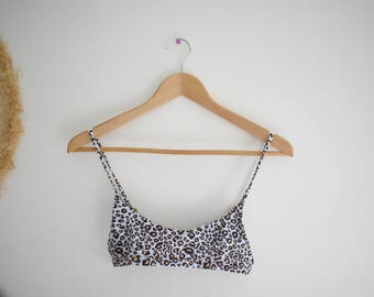 Cheetah swim top
