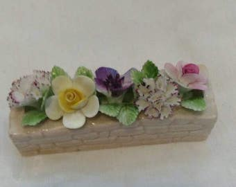 Royal Doulton flower bed ornament