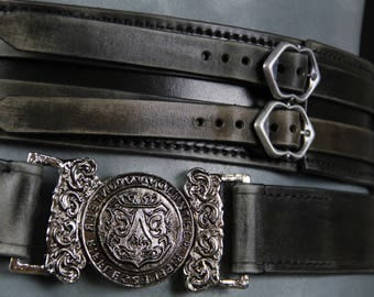 Assassin's Creed Syndicate / Jacob Frye belt with new functional buckle / Ubisoft