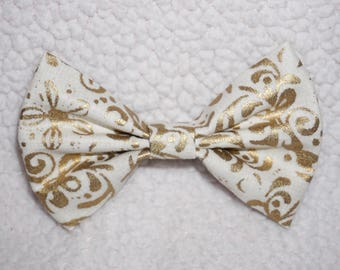 SALE! Golden Damask | baby bow, toddler bow, headband