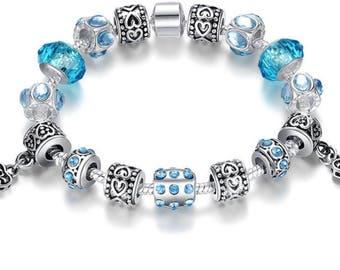Pandora like charm bracelet