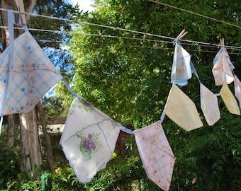 Pretty Handkerchief Bunting