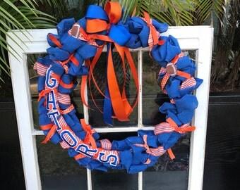 Team Front Door Wreath