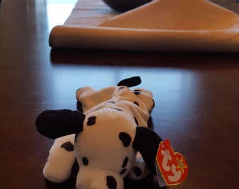 Vintage Beanie Baby - Dotty with tag errors