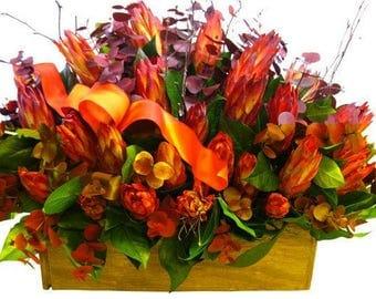 Sunset Protea Arrangement