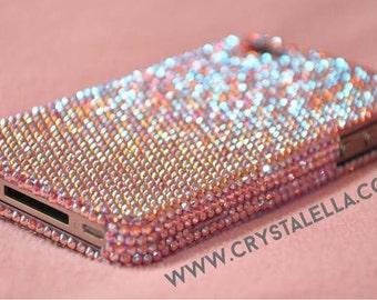 Swarovski Crystal Iphone Case In Light Rose AB Crystals