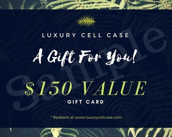 Luxury Cell Case Gift Card