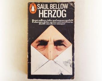 Saul Bellow - Herzog - Penguin vintage paperback book - 1967