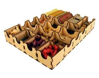 Agricola 2nd edition, wood insert, organizer