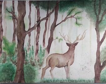 Original - Deer In Forest