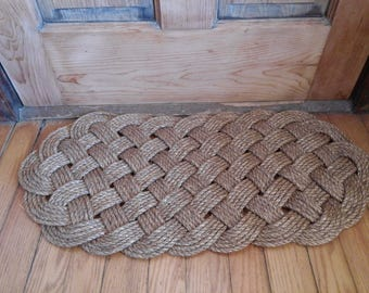 Traditionally Crafted Sailor Mat- Extended Ocean Plait
