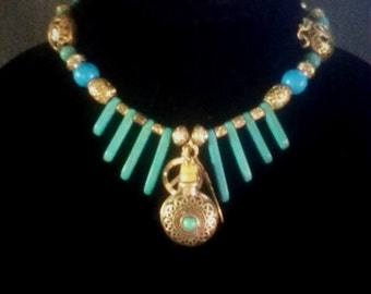 Native American jar necklace