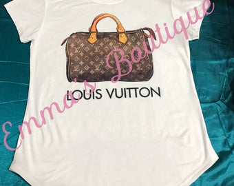 Louis Vuitton Speedy Women's  FASHION T-shirt
