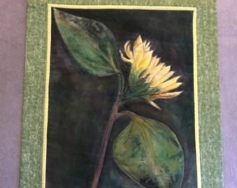Solar Powered Sunflower