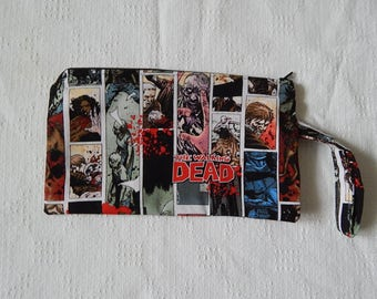 The Walking Dead wristlet or clutch