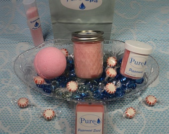 Hand-made Spa Gift Set - Peppermint