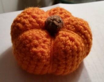 Handmade Crochet Pumpkin