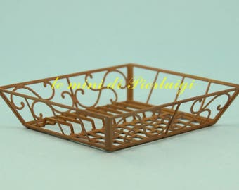 tabletop draining rack - dollhouse 1:12th scale - dollshouse miniature - kitchen accessories