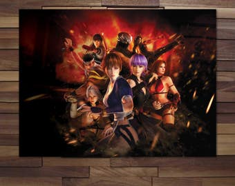 Dead or Alive Game Poster - Canvas