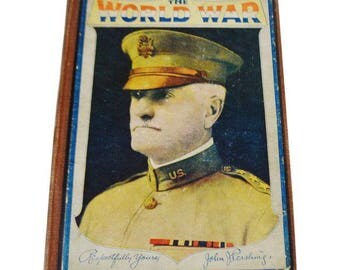 Vintage 1919 The World War A Pictorial History Book John Pershing