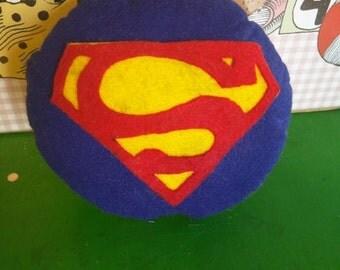 Batman/Superman Plushie Pillow