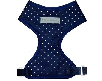 Dark Blue Dog harness