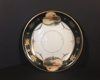 Nippon Hand Painted Plate