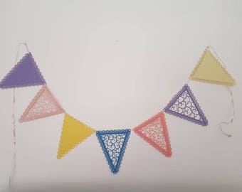 Large Bunting. Pack of 12