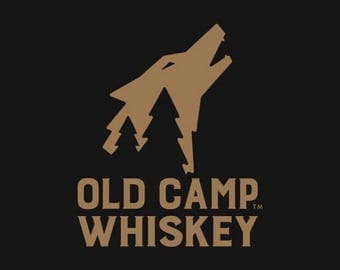 Whiskey decals etsy for Old camp whiskey shirts