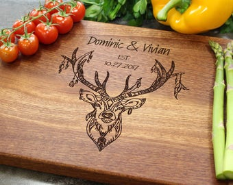 Personalized Cutting Board - Engraved Cutting Board, Custom Cutting Board, Wedding Gift, Housewarming Gift, Anniversary Gift, Engagement #18