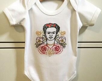 Frida Kahlo Onesie T-shirt