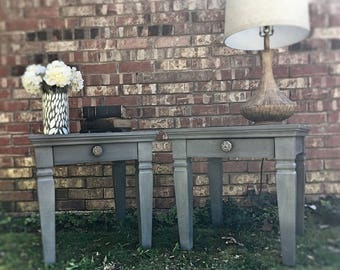 Sold***The End of the Lime End Tables or NIghtstands