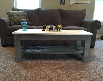 Rustic/Farm coffee table