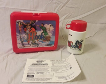 1991 Hook Lunchbox with Thermos