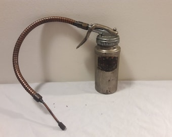 Vintage Plews Oil Can
