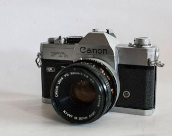 Canon FTb Ql + 50mm 1.8