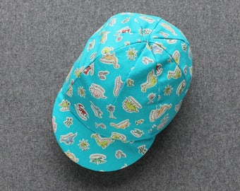 Children's dinosaur classic cycling cap