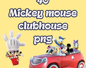 50% off Mickey Mouse club house png clip art