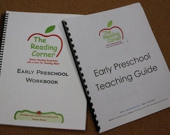 Early Preschool Workbook & Teaching Guide FREE Shipping