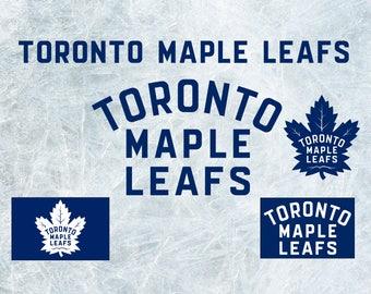 Toronto Maple Leafs Cut Files, SVG Files, Hockey Clipart, Cricut Toronto Maple Leafs  Cutting Files, Hockey DXF, Clipart