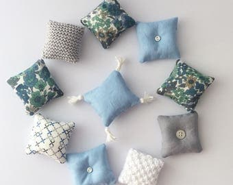 Dollhouse scatter cushions