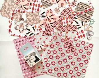 Junk journal, makeup scrapbooking embellishments, card making