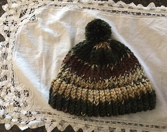Childs Camouflauge Hat