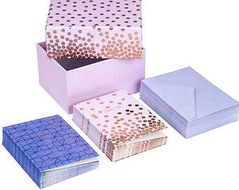 Set of 10 cards and envelopes