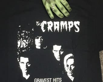 The Cramps Gravest Hits T shirt